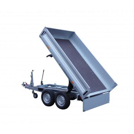 Přívěsný vozík KA 2700 R - sklápěč, brzděný, 2700 kg
