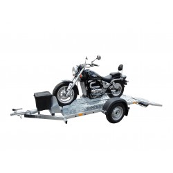 Přepravník jednoho motocyklu MOTOVAN nebrzděný, 750 kg
