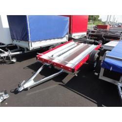 Přívěsný vozík Motomax nebrzděný, 750 kg