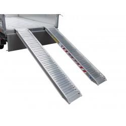 Hliníkový nájezd na přívěsný vozík TRIP, 2850mm, 2300kg