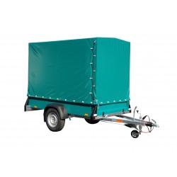 Přívěsný vozík Spectrum B 13.25 brzděný, 1300 kg