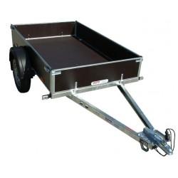Přívěsný vozík PV PROFI 2 nebrzděný, 2100x1280 mm, 750 kg, zesílená náprava