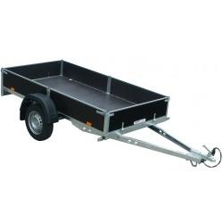 Přívěsný vozík PV UNI 3 nebrzděný, 2530x1280 mm, 750 kg