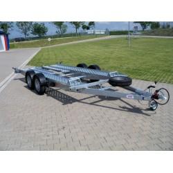Autopřepravník PA1 brzděný, 2460 kg, 4200 x 1920 mm, 100 km/h