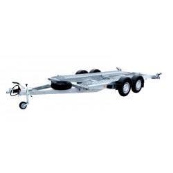 Autopřepravník PA1 brzděný, 2700 kg, 4000 x 1920 mm, 100 km/h