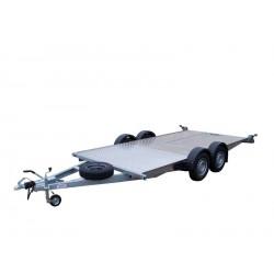 Autopřepravník PAL 2.0 var. 4.0 ver. 1.96 EXPRESS brzděný, 2000 kg, 4000 x 1960 mm, 130 km/h