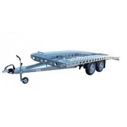 Autopřepravník PAV1 brzděný, 2000 kg, 4210 x 2020 mm, 100 km/h