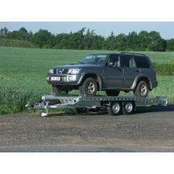 Autopřepravník PAV1 brzděný, 2460 kg, 4010 x 2020 mm, 130 km/h