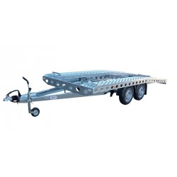 Autopřepravník PAV1 brzděný, 2460 kg, 4210 x 2020 mm, 100 km/h