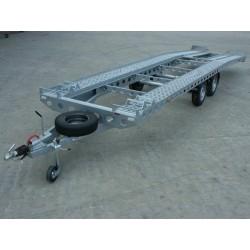 Autopřepravník PAV2 brzděný, 3500 kg, 7700 x 1960 mm, 100 km/h