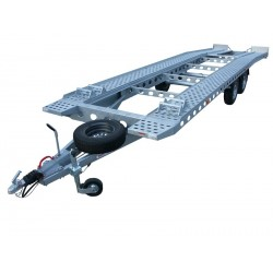 Autopřepravník PAV2 brzděný, 3500 kg, 8000 x 2200 mm, 100 km/h