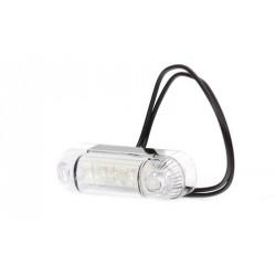 Svítilna boční obrysová LED WAS W61, 12-24V, 3 diody