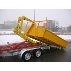 Přepravník s kontejnerovou nástavbou