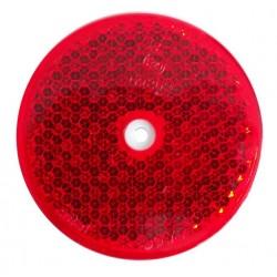 Odrazka červená kulatá Wital pr. 75 mm