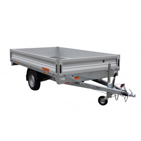 Přívěsný vozík CARGO D 14.3 Light brzděný, 1400 kg, zesílená náprava 1500 kg