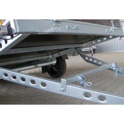 Přívěsný vozík PV1 nebrzděný, 2530x1530 mm, 750 kg