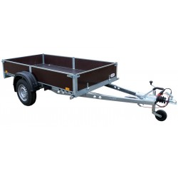Přívěsný vozík PV1 PROFI brzděný, 2530x1280 mm, 1300 kg, 130km/h