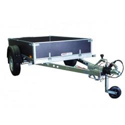 Přívěsný vozík PV1 PROFI brzděný, 1650x1280 mm, 1300 kg, 130km/h