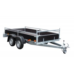 Přívěsný vozík VARIO B 08.3 T nebrzděný, 750 kg
