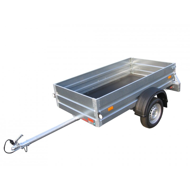 Přívěsný vozík NP 21 nebrzděný, 750 kg