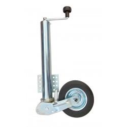Kolečko opěrné automatatické Protempo, průměr 60 mm s plochou přírubou, 250 kg