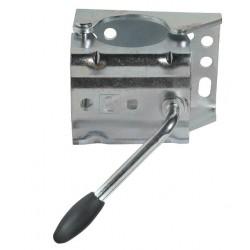 Držák opěrného kolečka 60 mm KLE / 60 rozevírací