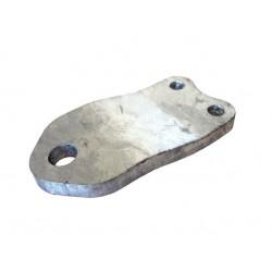 Držák tlumiče náprav KNOTT A8,5 mm šroubovací