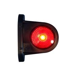 Svítilna doplňková obrysová LED WAS 296BC, 12-24V, P / L 78 mm