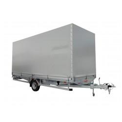 Přívěsný vozík CARGO E 16.3 brzděný, 1600 kg