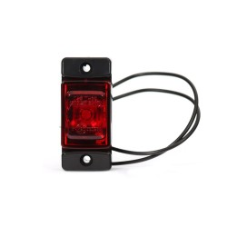 Svítilna zadní obrysová LED WAS W60, 12-24V, obdélníková malá