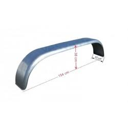 Blatník tandemový plechový oblý š220 / v380 / d1540 mm