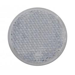 Odrazka bílá kulatá Wital pr. 62,5 mm se šroubkem