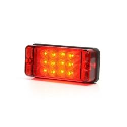Svítilna mlhová zadní LED WAS W 83D, 12-36 v, IP68