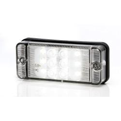 Svítilna couvací zadní LED WAS W 84D, 12-36 v, IP68