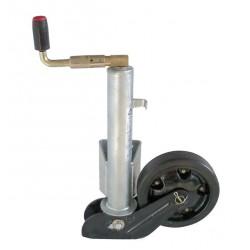 Kolečko opěrné automat. AL-KO 260x65 (ocelový disk) 800kg