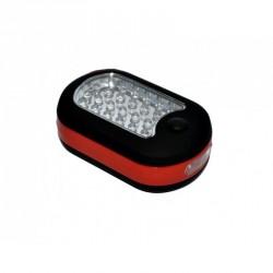 Montážní bateriová svítilna 24+3 LED