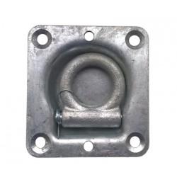 Kotevní miska 95x102 mm (zápustná, 1000 kg)