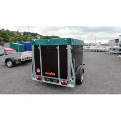 Přepravník zvířat Agro 13.2 brzděný, 1300 kg