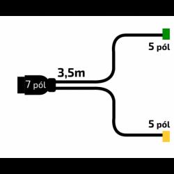 Kabeláž VAPP 3,5m/7-pól....