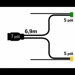 Kabeláž VAPP 6,9m/7-pól....