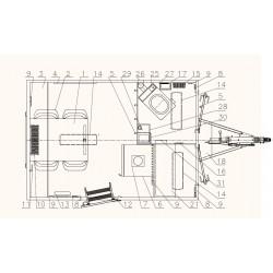 Stavební buňka Mobi 32-3213 brzděný, 1300 kg