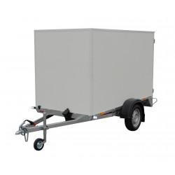 Překližkový skříňový přívěsný vozík PS 18 nebrzděný, 750 kg