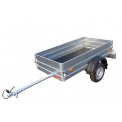 Přívěsný vozík NP21B brzděný, 1000 kg