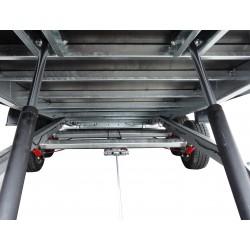 Přívěsný vozík Jumbo 20.3 brzděný, 2000 kg
