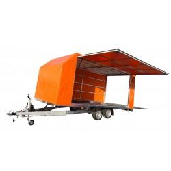 Přívěsný vozík Jumbo 25.5 brzděný, 2500 kg
