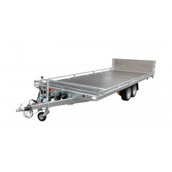 Přívěsný vozík Jumbo 25.3 brzděný, 2500 kg