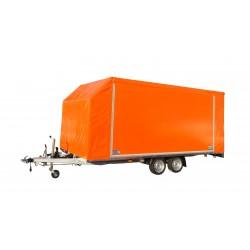 Přívěsný vozík Jumbo 25.4 brzděný, 2500 kg